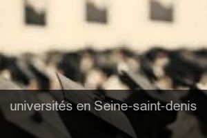Universités en Seine-saint-denis
