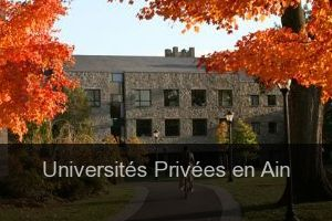 Universités Privées en Ain