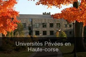 Universités Privées en Haute-corse